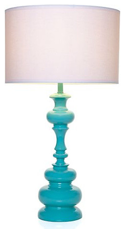 Mariposa Table Lamp - Aquamarine - modern - table lamps - by Z ...