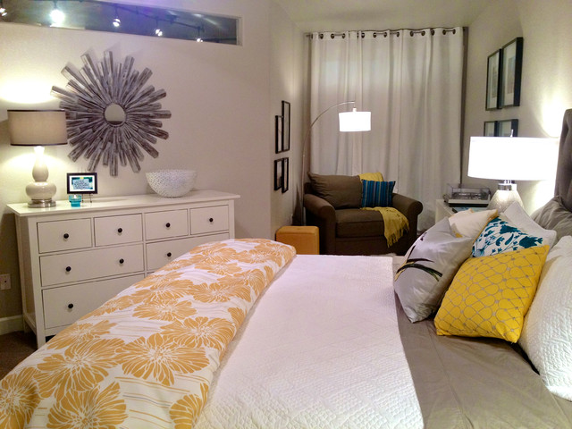 Relaxtion contemporary-bedroom