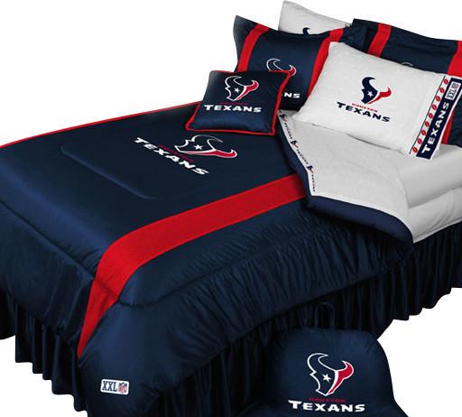 NFL Houston Texans Football Queen-Full Bed Comforter Set ...