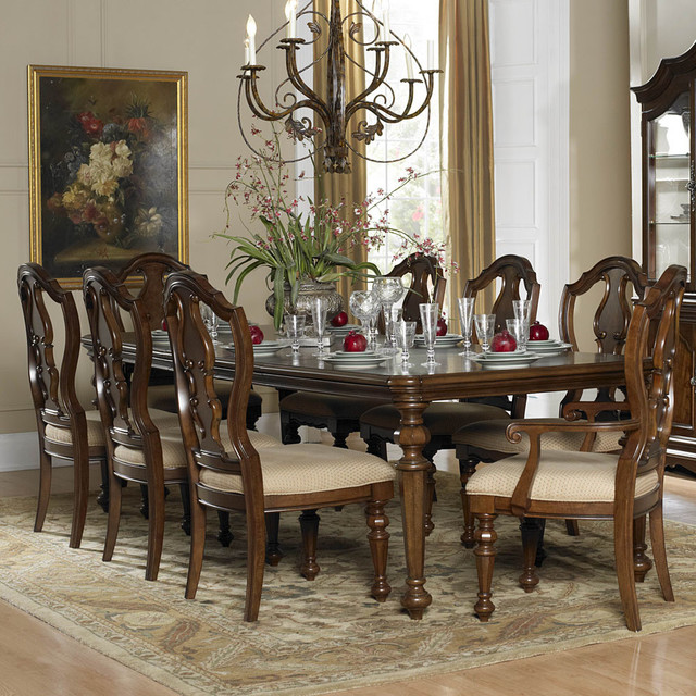 Dining Room Ideas Houzz: Homelegance Montrose 9-Piece Extension Dining Room Set In