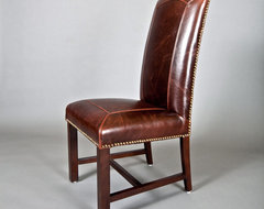 Monroe Leather Dining Chair  dining chairs and benches