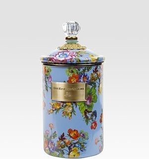 MacKenzie-Childs - Flower Market Canister/Large traditional-food-containers-and-storage