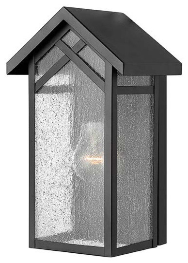 Hinkley Lighting 1797BK Holbrook Black Outdoor Wall Sconce farmhouse-outdoor-wall-lights-and-sconces