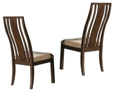 Tarim Way Slat Back Side Dining Chairs - Set of 2 modern-dining-chairs