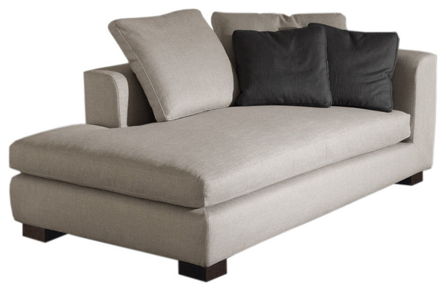 Minotti matisse modern chaise longue modern by switch for Chaise longue beds