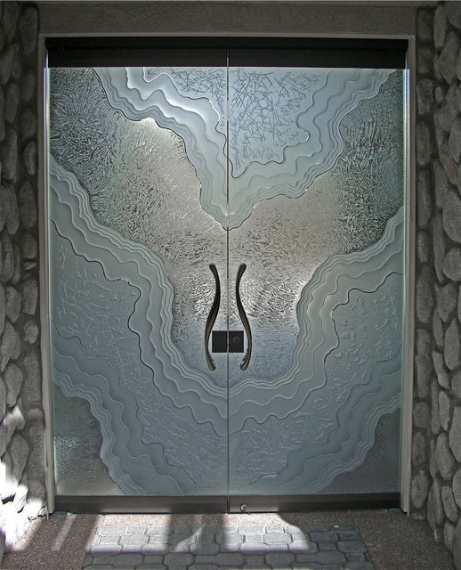 Metamorphosis contemporary front doors