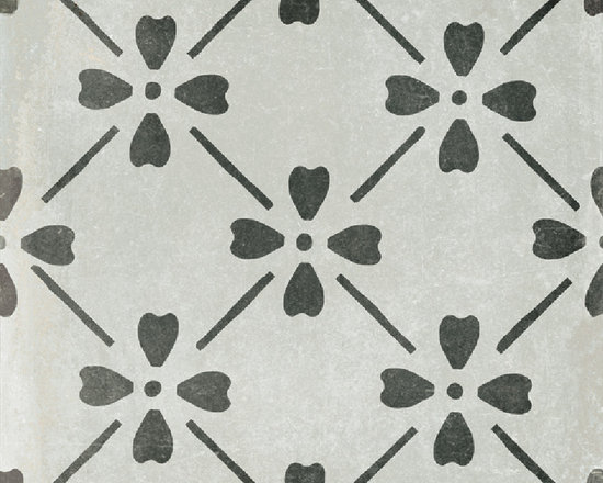 GRAPHITE BLOOM 12X12 - The Palazzo collection provides a multi-faceted dynamic of old world charm and modern beauty with three beautiful colors and four unique decorative designs. Trim options and mosaics also available.