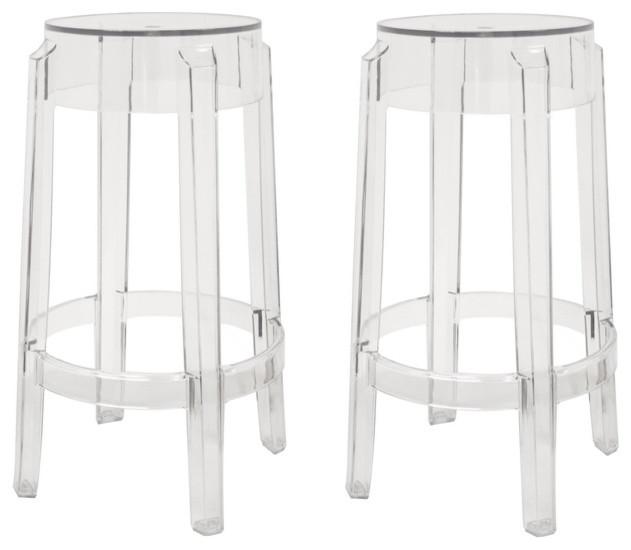 Baxton Studio Bettino Clear Acrylic Counter Stool Set of 2 contemporary-bar-stools-and-counter-stools