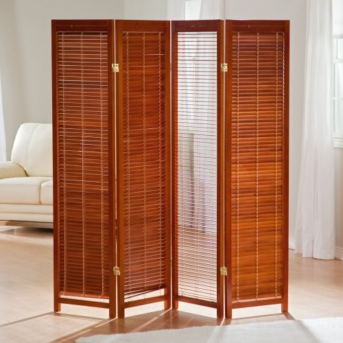 ck group tranquility wooden shutter screen room divider in