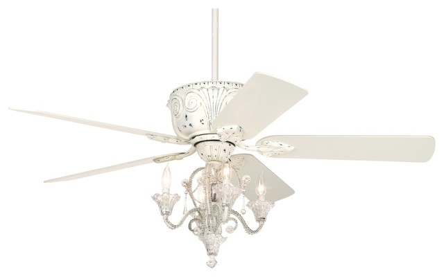 "Coastal 52"" Casa Deville™ Candelabra Ceiling Fan traditional ceiling fans"