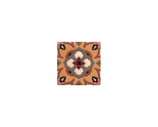Handpainted Ceramic Old California Mission Tile Collection - Item CA46