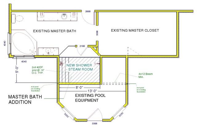 Master Bath Remodel - Job 294 mediterranean