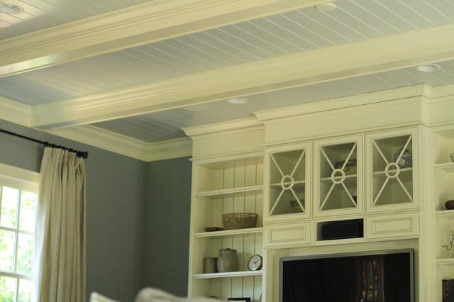 Bonus room fireplace - traditional - media room - charlotte - by ...