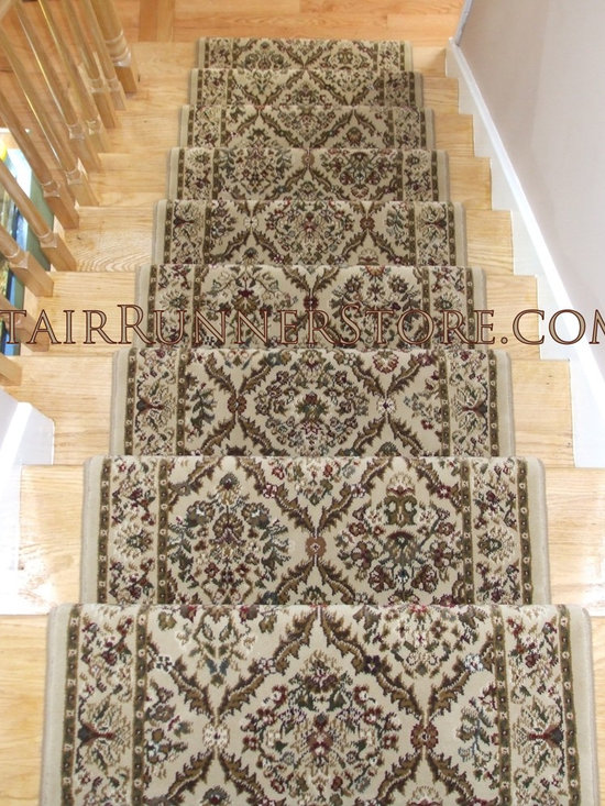 Straight Staircase Stair Runner Installations -