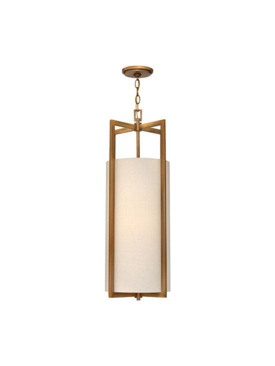 Hinkley Lighting 3212BR 1 Light Mini-Pendant Hampton Collection -