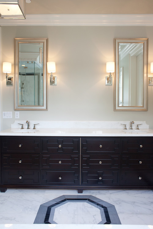 Bathroom Sconces Placement please help me with wall-mounted sconces and mirror issues