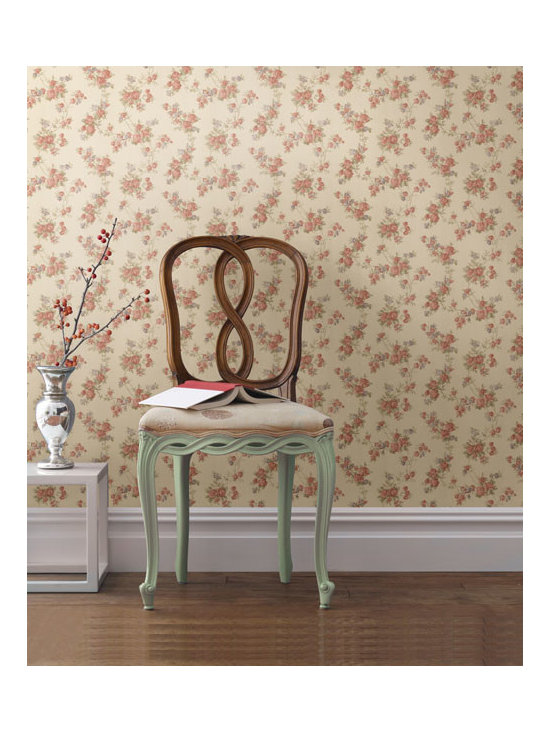 Floral Wallpaper - available from Brewster Home Fashions