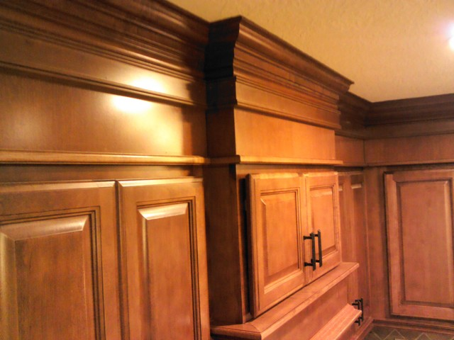 Wrapped soffits traditional kitchen cabinetry other metro by complete home design - Kitchen soffit design ...