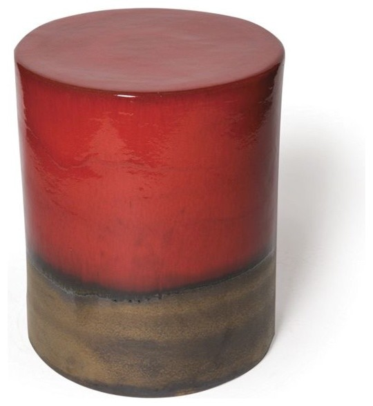 Ceramic Outdoor Stool or Table accent-and-garden-stools