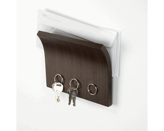 Wall Mounted Magnetic Organizer in Espresso by Umbra® -