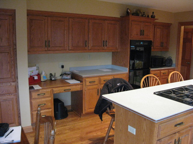 Kitchen remodel in Brookfield #3 - Before traditional