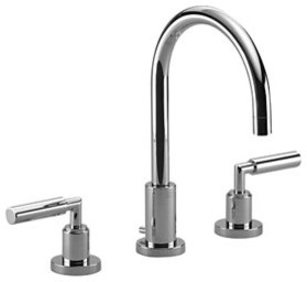 tara three hole lavatory mixer collection by dornbracht faucet and shower collection
