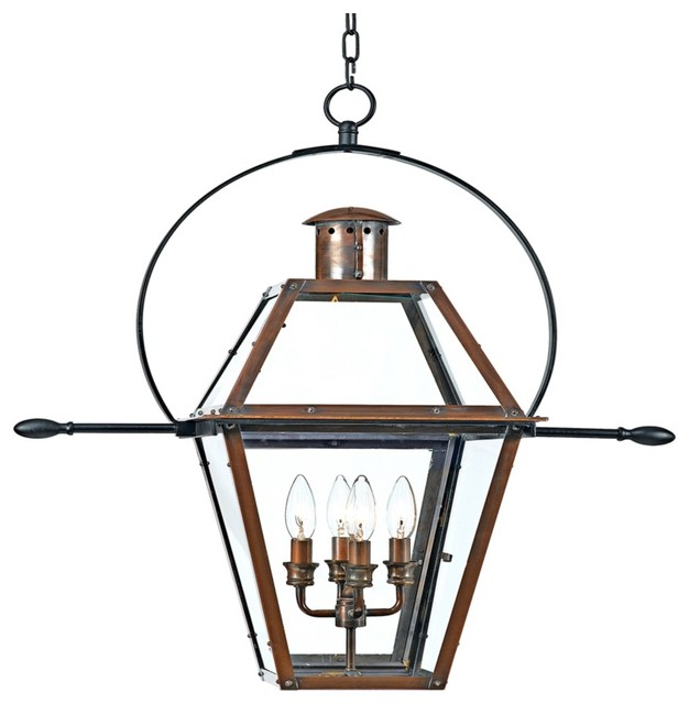 "Country - Cottage Rue de Royal 29 1/2"" High Outdoor Hanging Light traditional-outdoor-lighting"