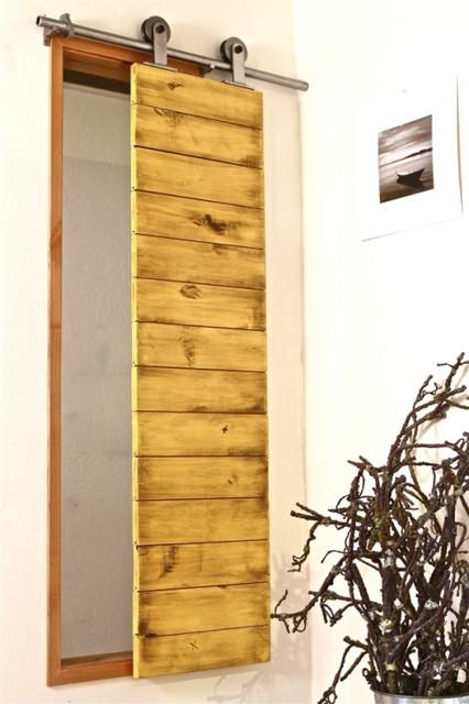 Barn Door Shutter Modern Window Treatments Salt Lake