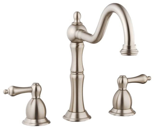 Belle Foret N130 01 SS Kitchen Faucet in Stainless Steel traditional-kitchen-faucets