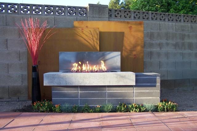Custom Residential contemporary-patio
