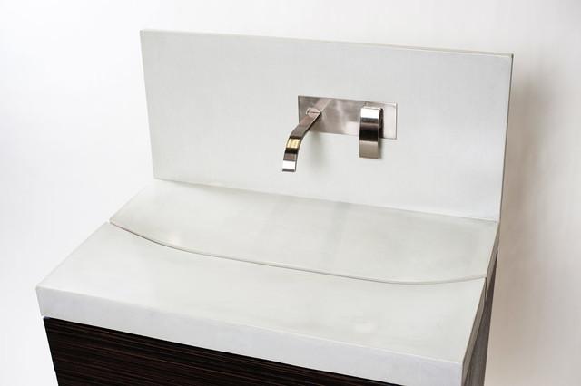 Smiling Crevasse Sink modern-bathroom-vanities-and-sink-consoles