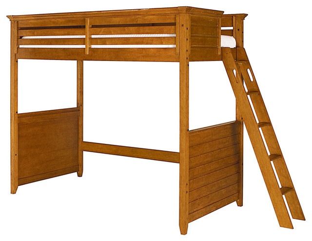 Willow Run Twin Tall Loft Bed traditional-beds