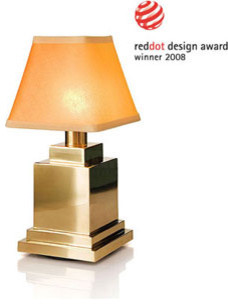 ritz rechargeable cordless table lamp by neoz table lamps los. Black Bedroom Furniture Sets. Home Design Ideas