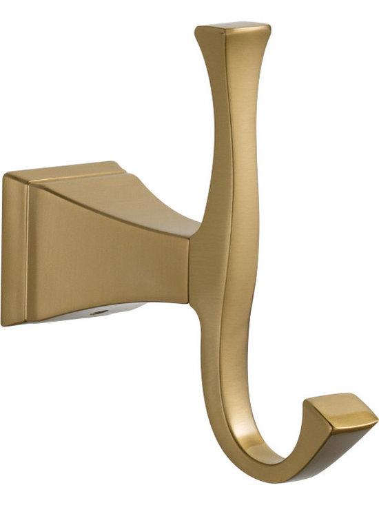 Delta Dryden® Robe Hook - Delta Dryden® Robe Hook, Champagne Bronze™ Finish, 75135-CZ