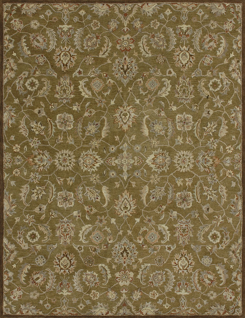 "Loloi Elmwood EW-06 3'6"" x 5'6"" Olive Rug contemporary-rugs"
