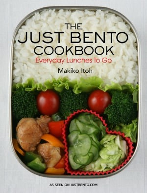 The Just Bento Cookbook: Everyday Lunches To Go asian-books