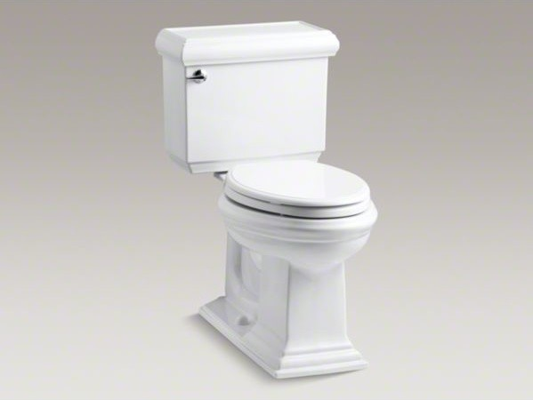 KOHLER Memoirs(R) Classic Comfort Height(R) two-piece elongated 1.6 gpf toilet w contemporary-toilets