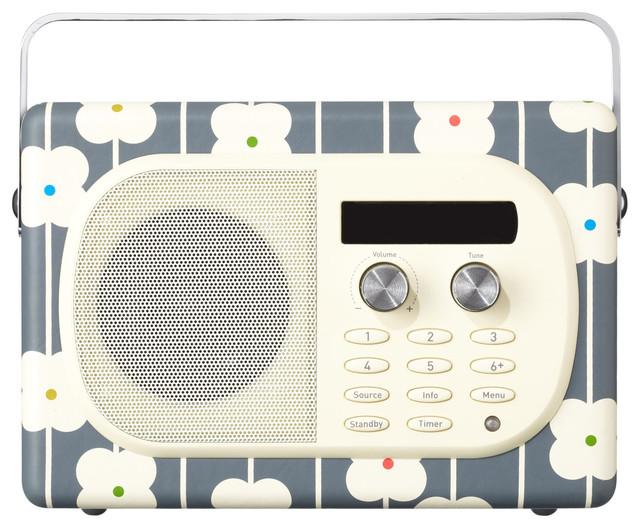 EVOKE Mio Radio by Orla Kiely contemporary-home-electronics