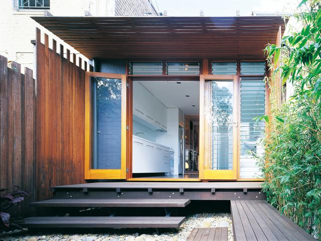 H House modern-exterior