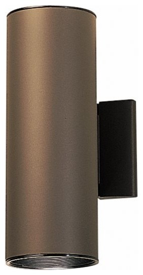 KICHLER Cans & Bullets Hard Contemporary Outdoor Wall Sconce X-ZA4429 - Contemporary - Outdoor ...
