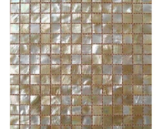 Butterfly seashell tile kitchen backsplash shell mosaic bathroom walls EST029 - Sheet Size: 300 x 300mm(11.8 x 11.8 In.)