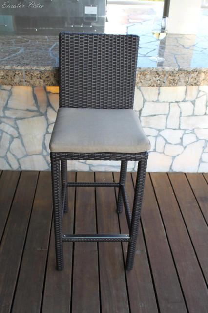 Outdoor Bar Stools Alta Moderno Contemporary Outdoor