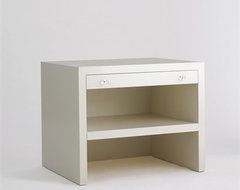 Bellaire Table by Jan Showers contemporary nightstands and bedside tables