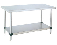 Metro Stainless Steel Table - 60x30x34 industrial-kitchen-islands-and-kitchen-carts