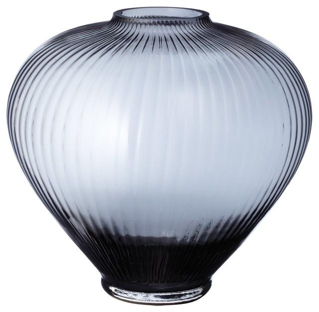 Lazy Susan 464041 Smoky Spindle Vase contemporary-vases