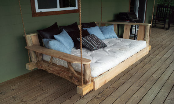 Porch Swing Bed, Full by Rustics and Stones - Contemporary ...