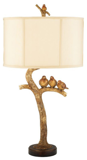 Sterling Industries Three Bird Light Eclectic Table