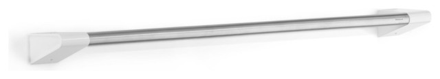 """Sento Towel Rail, Brushed, 26"""" contemporary-towel-bars-and-hooks"""