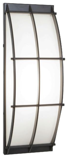 Access Lighting-20373-Tyro-- One Light Wall Fixture asian-outdoor-lighting