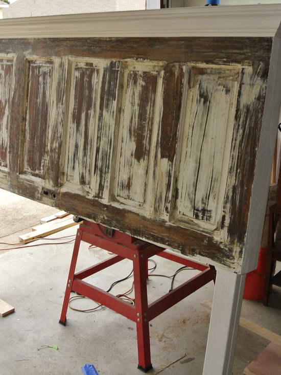 More Door Headboards - Vintage Headboards makes furniture using repurposed and upcycled materials.  Our headboards start at $125 and go up based on the materials used and finish requested.  Our headboards will quickly mount to your metal bed frame, wood box frame or can be ordered to hang on the wall.
